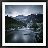Small river in the mountains of Pirin National Park, Bansko, Bulgaria Fine-Art Print