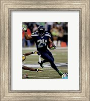Marshawn Lynch football 2014 Fine-Art Print