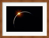 Apollo 12 view of a solar eclipse Fine-Art Print