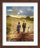 A Fine Afternoon for Fishing Fine-Art Print