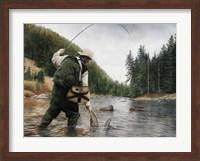 Fishing the Gallatin Fine-Art Print