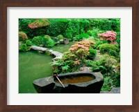 Green Zen Garden, Kyoto, Japan Fine-Art Print