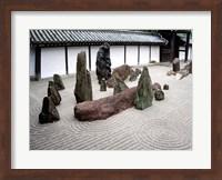 Stone Zen Garden, Kyoto, Japan Fine-Art Print