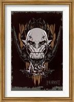 The Hobbit 3 - Azog Wall Poster