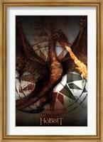 The Hobbit 3 - Smaug Wall Poster