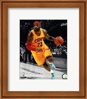 LeBron James 2014-15 Spotlight Action Fine-Art Print