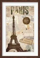 Sepia Paris Fine-Art Print