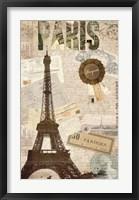 Sepia Paris Fine-Art Print