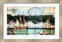 Tall Ships On The Sound Fine-Art Print