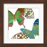 Scattered Butterflies I Fine-Art Print