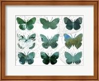 Layered Butterflies I Fine-Art Print