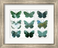 Layered Butterflies I Fine-Art Print
