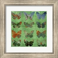 Butterflies on Green Fine-Art Print