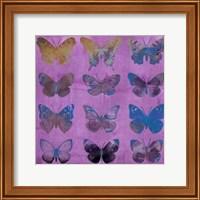 Butterflies on Magenta Fine-Art Print