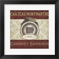 Burgundy Wine Labels II Fine-Art Print