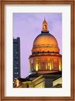 Asia, Singapore, Padang. Supreme Court Building. Fine-Art Print