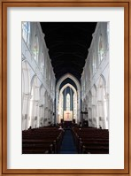 Singapore. The interior view of St. Andrew's Cathedral Fine-Art Print