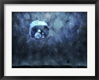 Sitting on the Moon Fine-Art Print