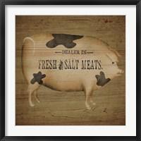 Pig Sign Fine-Art Print