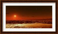 Spring Arrives near the Martian Polar Cap Fine-Art Print
