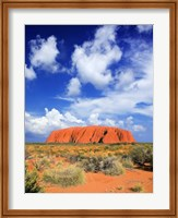 The holy mountain of Uluru, Ayers Rock, Australia Fine-Art Print
