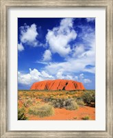 The holy mountain of Uluru, Ayers Rock, Australia Fine-Art Print