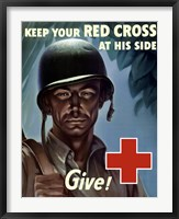 Keep Your Red Cross at His Side Fine-Art Print