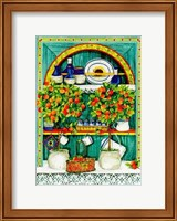 The Blossoming Kitchen I Fine-Art Print