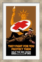They Fight for You, Protect Them Fine-Art Print