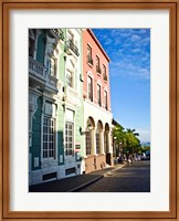 Typical Colonial Architecture, San Juan, Puerto Rico, Fine-Art Print