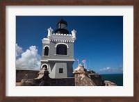 Puerto Rico, San Juan, El Morro Fortress, lighthouse Fine-Art Print