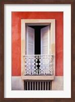 White Shutters, Old San Juan, Puerto Rico Fine-Art Print