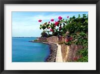 Waterfront Walkway, Fort San Felipe del Morro, San Juan, Puerto Rico, Fine-Art Print