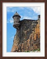 Watchtower, Fort San Felipe del Morro, San Juan, Puerto Rico, Fine-Art Print