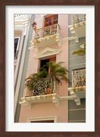 Puerto Rico, San Juan Facades of Old San Juan Fine-Art Print