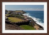 Puerto Rico, San Juan View from San Cristobal Fort Fine-Art Print