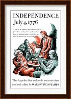 Thomas Jefferson Reading the Declaration of Independence Fine-Art Print