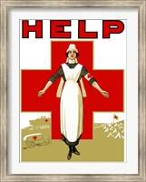 Help - Red Cross Nurse Fine-Art Print