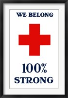 Red Cross - We Belong Fine-Art Print