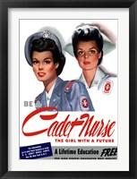Be a Cadet Nurse Fine-Art Print