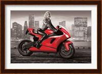 Marilyn's Motorcycle Fine-Art Print