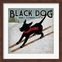 Black Dog Ski Co. Fine-Art Print