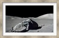 Scene from Apollo 17 Extravehicular Activity Fine-Art Print