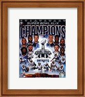 New England Patriots Super Bowl XLIX Champions Composite Fine-Art Print