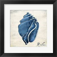 Inspirational Blue Shell II Fine-Art Print