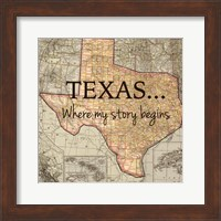 Texas My Story Fine-Art Print