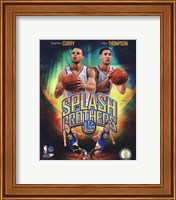 Stephen Curry & Klay Thompson Splash Brothers Portrait Plus Fine-Art Print