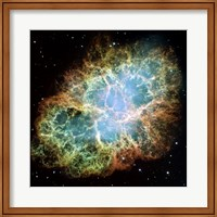 A Giant Hubble Mosaic of the Crab Nebula Fine-Art Print