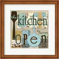 The Kitchen is Open Fine-Art Print