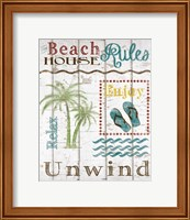 Beach House Rules Fine-Art Print